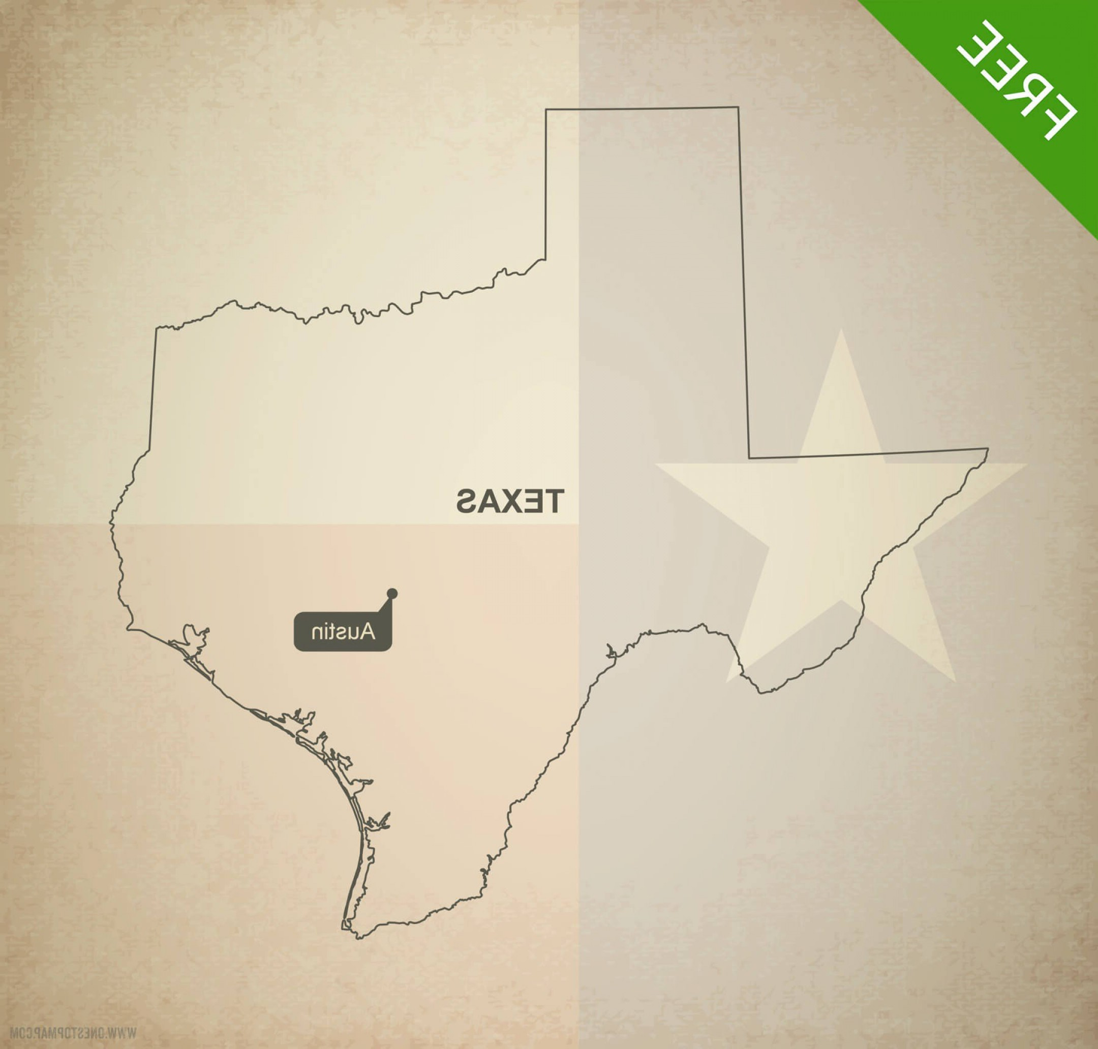2160x2064 Printable Vector Map Texas Outline Arenawp
