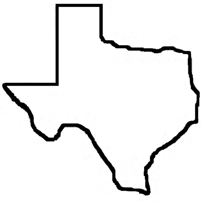 655x655 State Of Texas Outline Item Cristian Texas Outline
