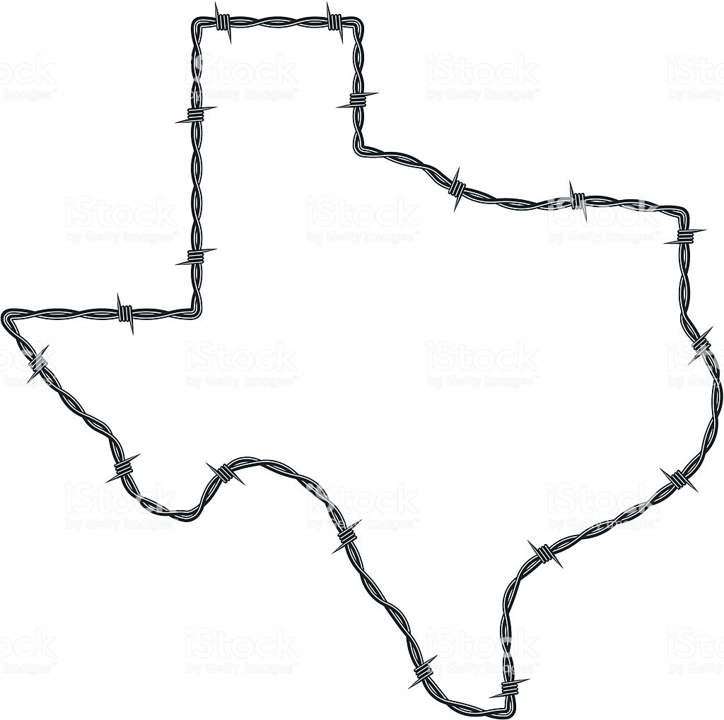 Texas Shape Vector