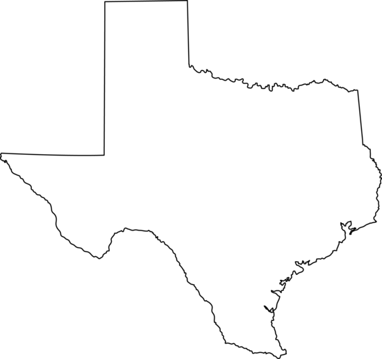 550x517 Best Photos Of White Texas Outline Vector