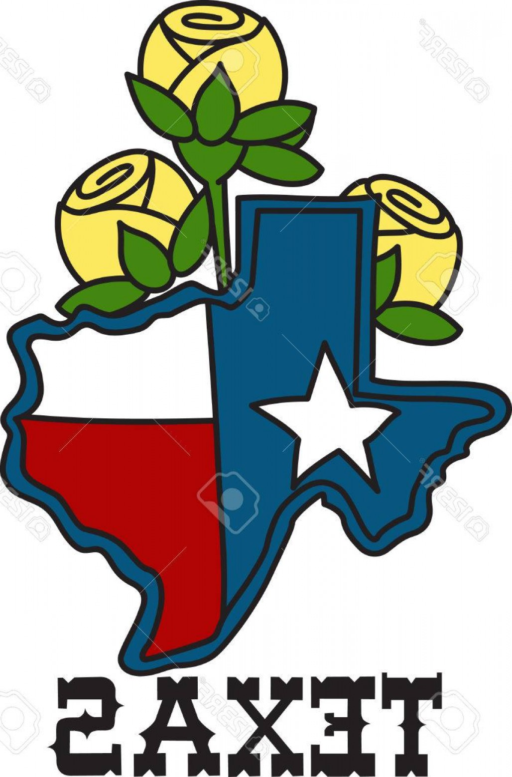1028x1560 Photostock Vector The Shape Of The Lone Star State Filled With The