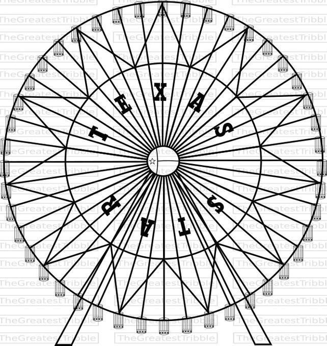 642x679 Ferris Wheel Texas Star Ferris Wheel Svg Png Jpg Vector Etsy