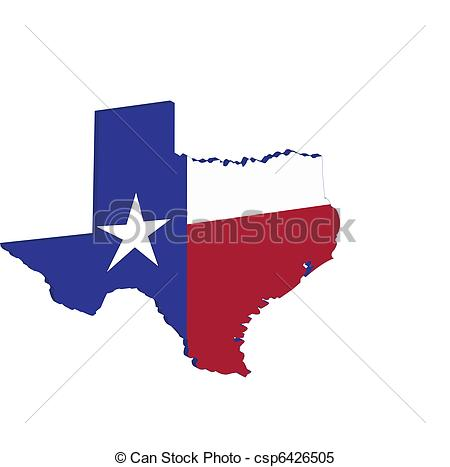 450x467 Texas State Map Flag. Texas State Map Flag.