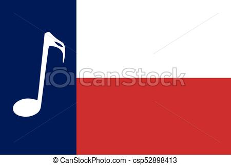 450x321 Musical Texas State Flag. The Flag Of The Usa State Of Texas With