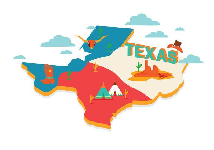 700x490 Texas Map Vector Texas Map Vector Download Free Vector Art Stock