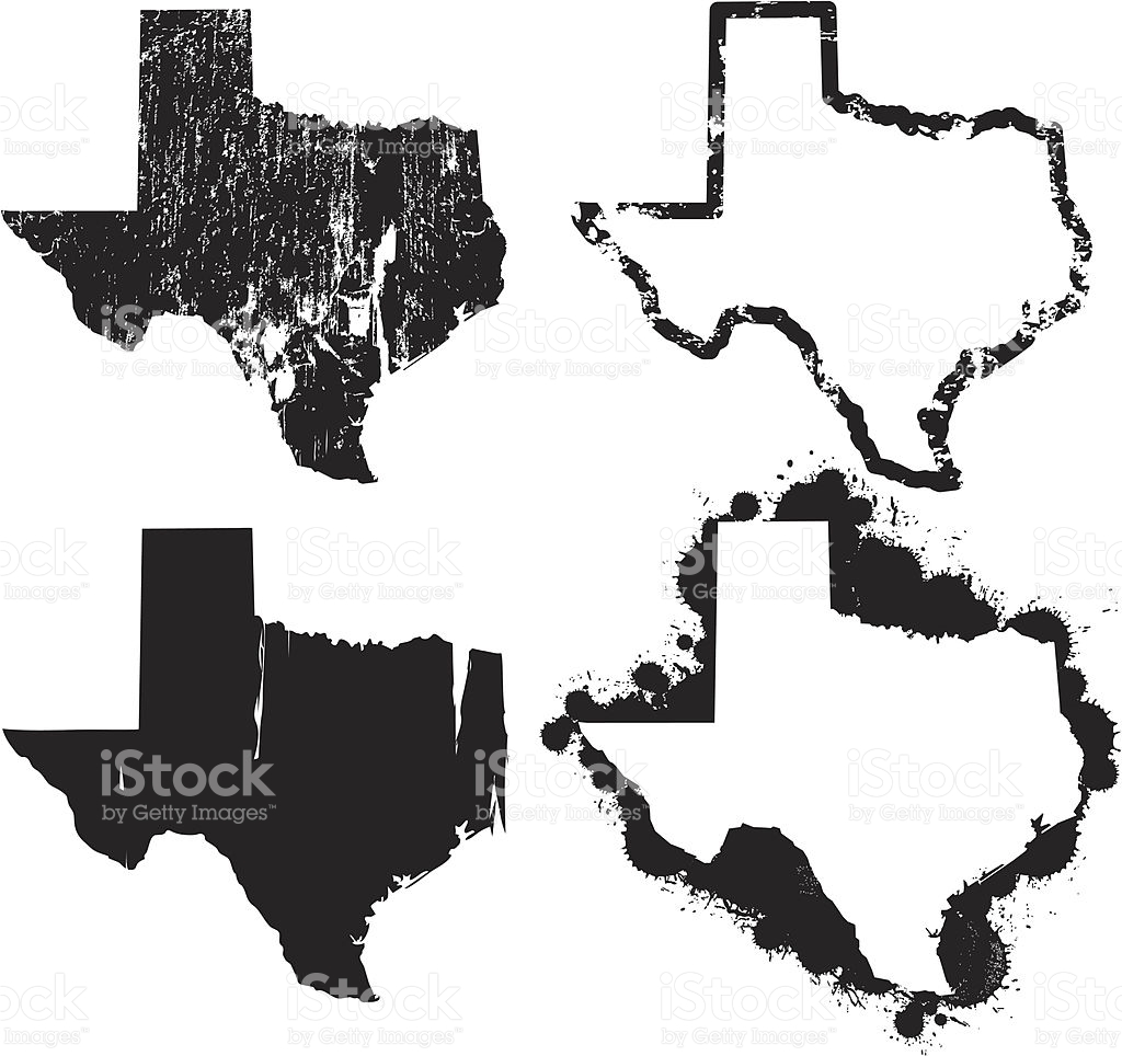 1024x964 Texas State Map With Flag Eps Vector