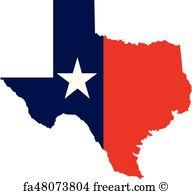 192x194 Free Texas Map Vector Art Prints And Wall Artwork Freeart