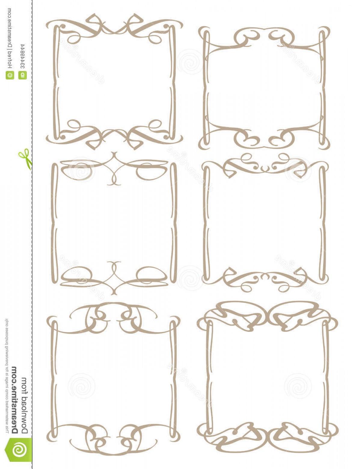 1171x1560 Stock Images Vintage Decorative Design Border Vector Borders