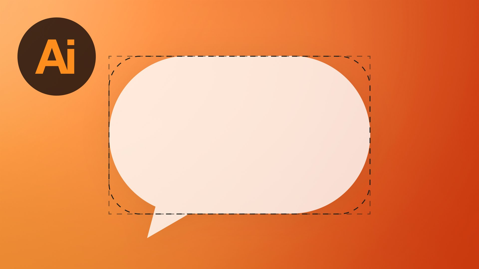 1920x1080 Learn How To Draw An Adjustable Speech Bubble In Adobe Illustrator