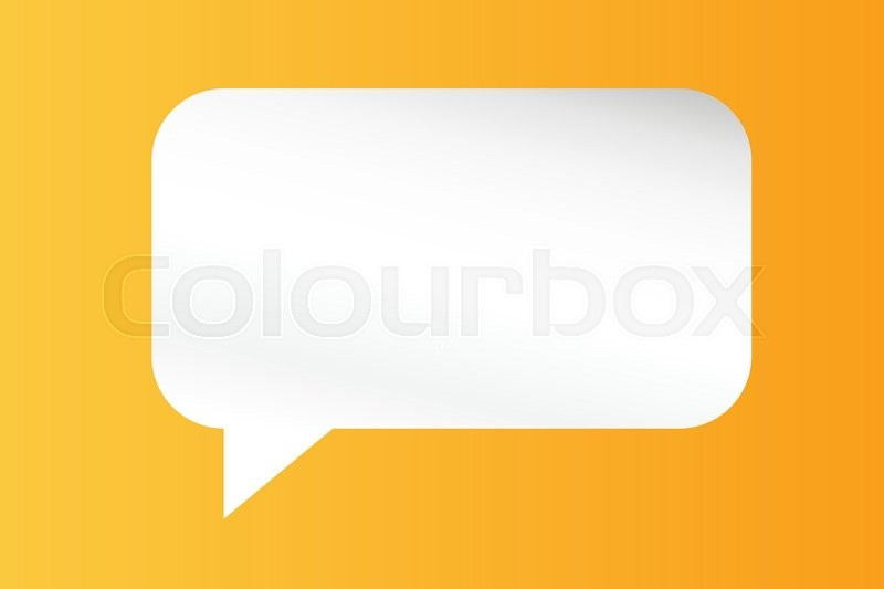 800x533 Quote Bubble Vector Blank Template. Quote Bubble Icon. Empty