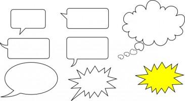366x200 Word Bubble Speech Bubble Free Vector Art Comic Free Vector For