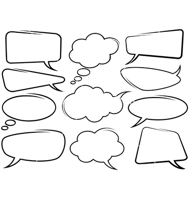 380x400 Speech Bubble Vector 2 An Images Hub