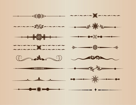 478x368 Decorative Line Divider Vectors Free Free Vector Download (30,961