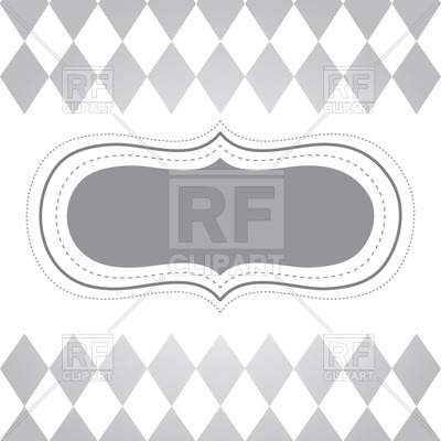 400x400 Gray Vintage Text Frame Vector Image Vector Artwork Of Borders