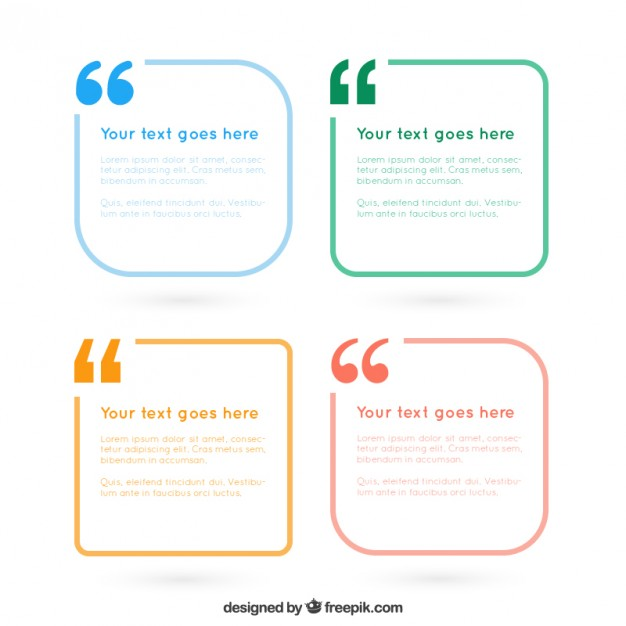 626x626 Simple Text Frames Pack Vector Free Download