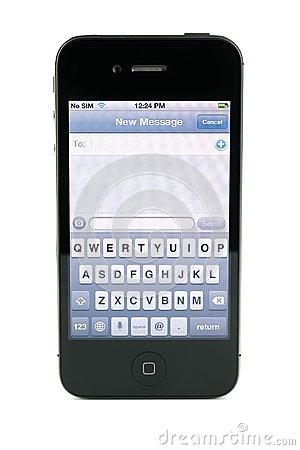 300x450 Iphone Message Image Black And White Library
