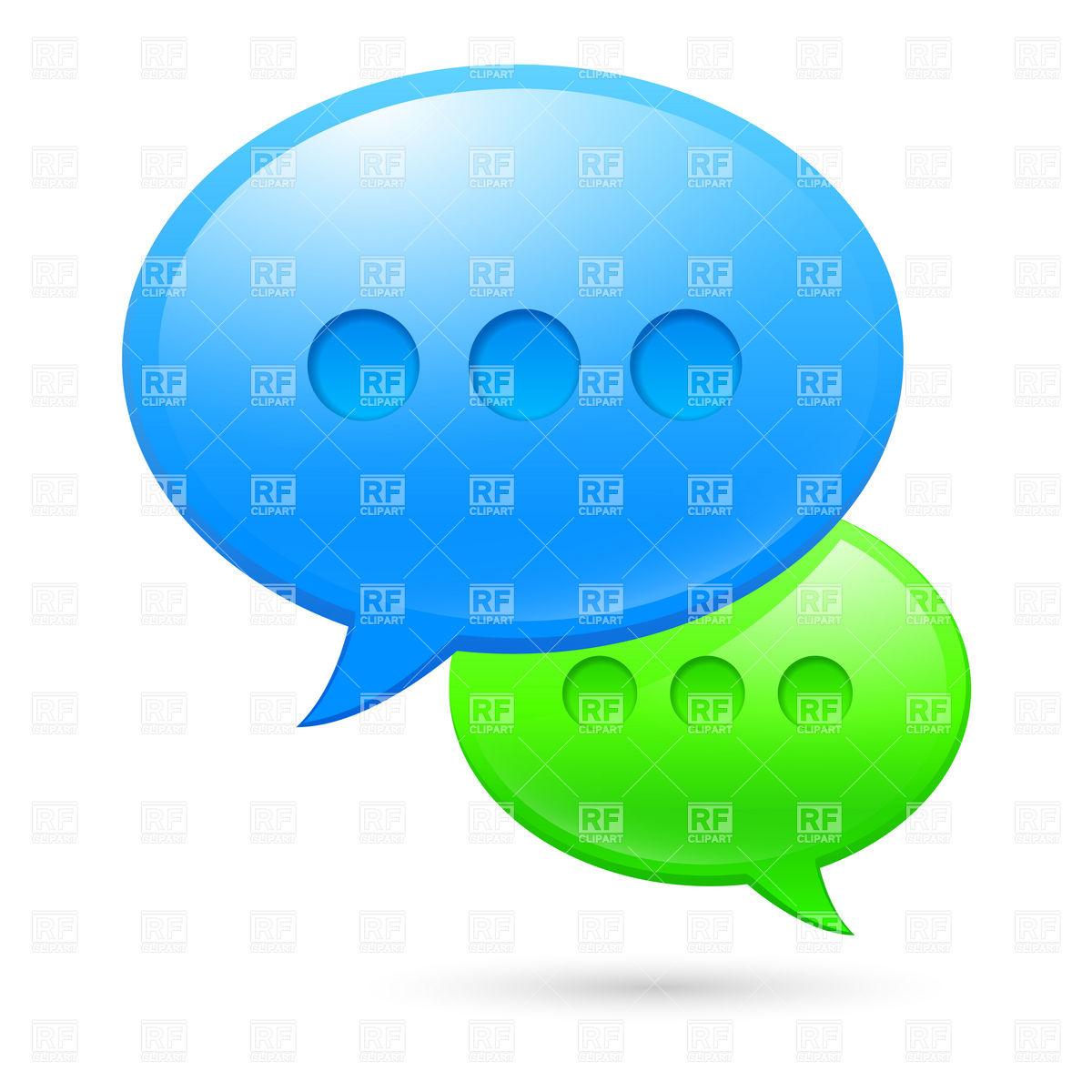1200x1200 Bubble Clipart Text Message