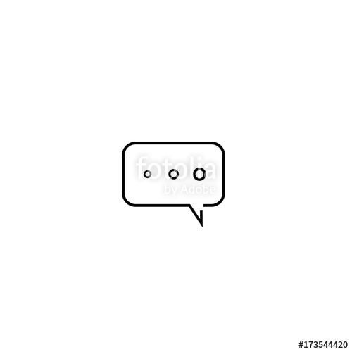 Text Message Bubble Vector at GetDrawings com | Free for