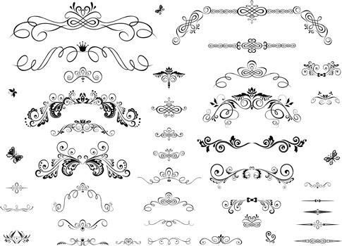 485x350 Illustrator Ornament Brush Border Free Vector Download (223,478
