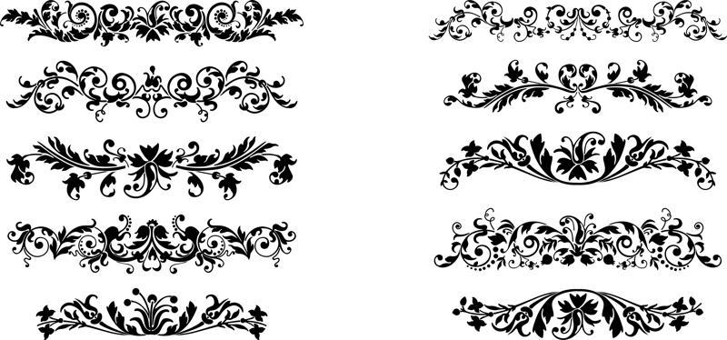 800x374 Plant Ornaments Vector Free Vector Download