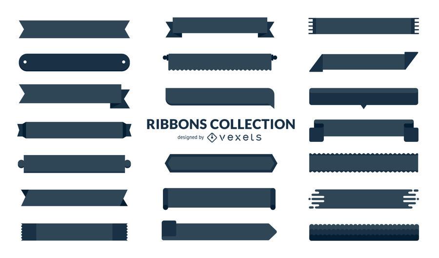 900x529 Huge Set Of Flat Ribbons