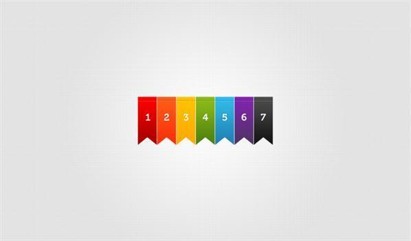 598x351 Ribbon Psd Vector Files Psddude