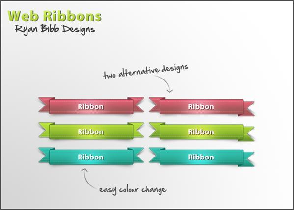 599x428 Ribbon Vector Free Collection Psddude