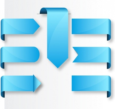 388x368 Blue Ribbon Vector Free Vector Download (11,180 Free Vector) For
