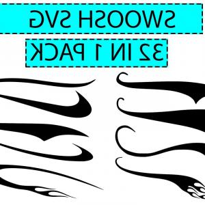 300x300 Text Tail Svg Swish Swoosh Underline Shopatcloth