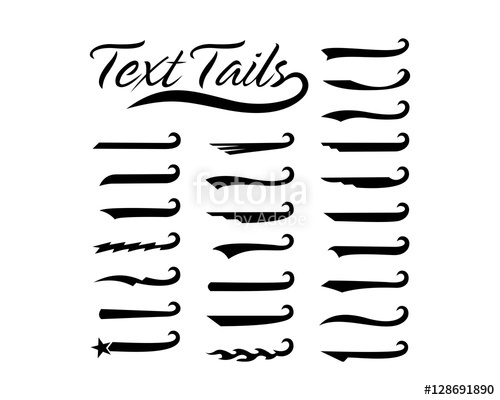 500x400 Text Tails Stock Image And Royalty Free Vector Files On Fotolia