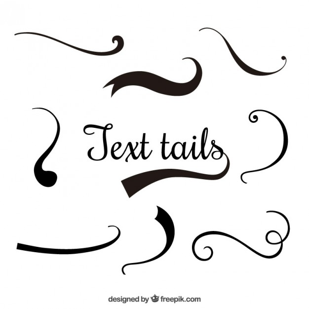 626x626 Text Tails Vector Free Download