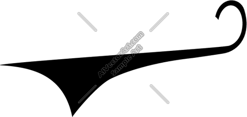 500x237 Tail16 Clipart And Vectorart Layouts