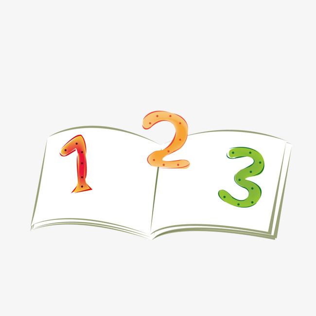 650x651 The Number On The Textbook, Vector, Textbook, Digital Png And