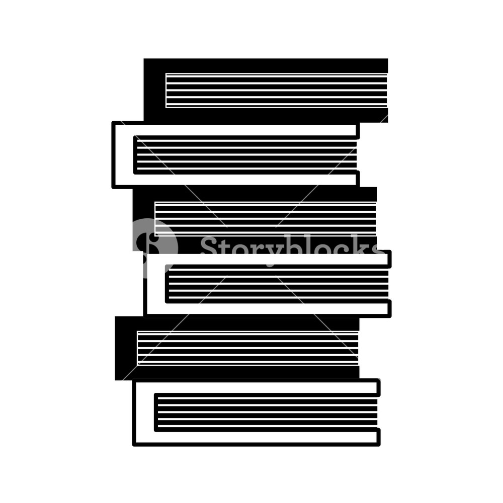 1000x1000 Contour Education Books Object To Kowledge Textbook Vector