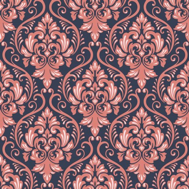 626x626 Textile Baroque Decor Seamless Floral Vector Premium Download