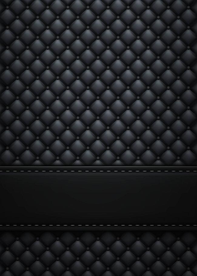 650x911 Atmospheric Texture Vector Black Sofa Texture Background, Vector