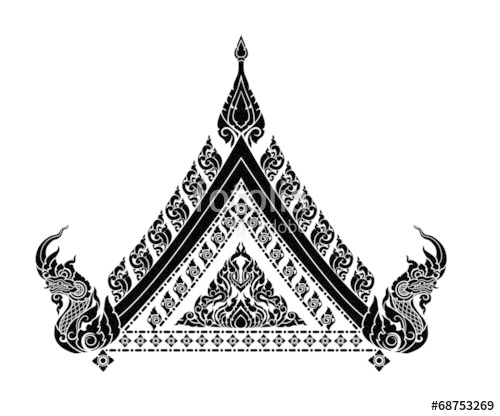 500x416 Thai Arts Interior Stock Image And Royalty Free Vector Files On