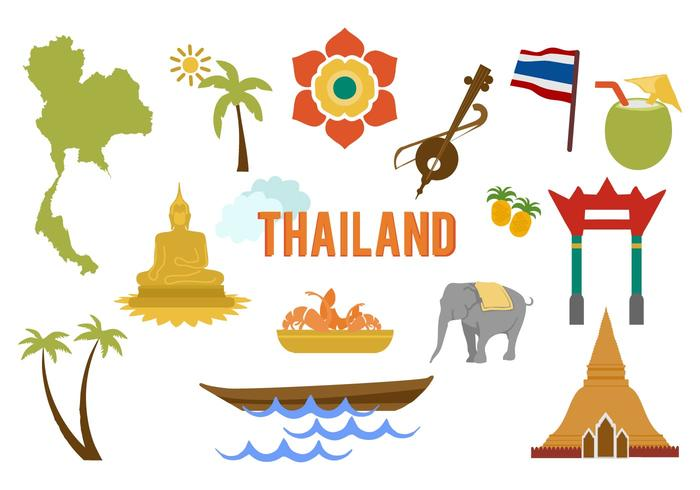 700x490 Thailand Free Vector Art