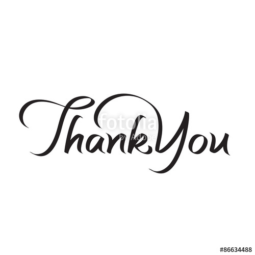 500x500 Thank You Hand Lettering