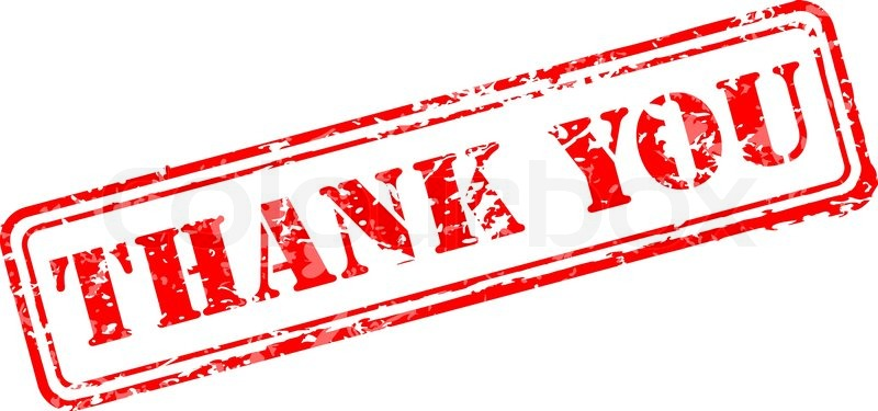 800x375 Thank You Rubber Stamp Stock Vector Colourbox