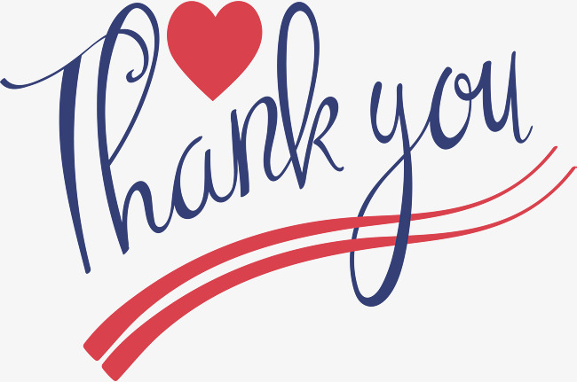 650x431 Thank You, Vector Png, Blue Thanks Png And Vector For Free Download