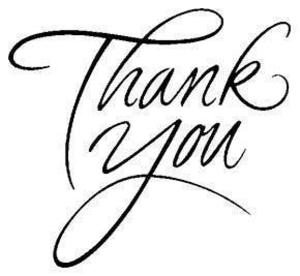 300x276 Thank You Free Images