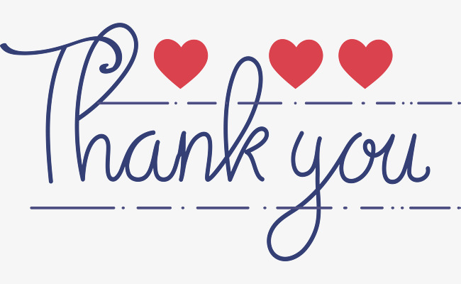 650x400 Blue Handwritten English Thank You, Vector Png, Thank You, Hand