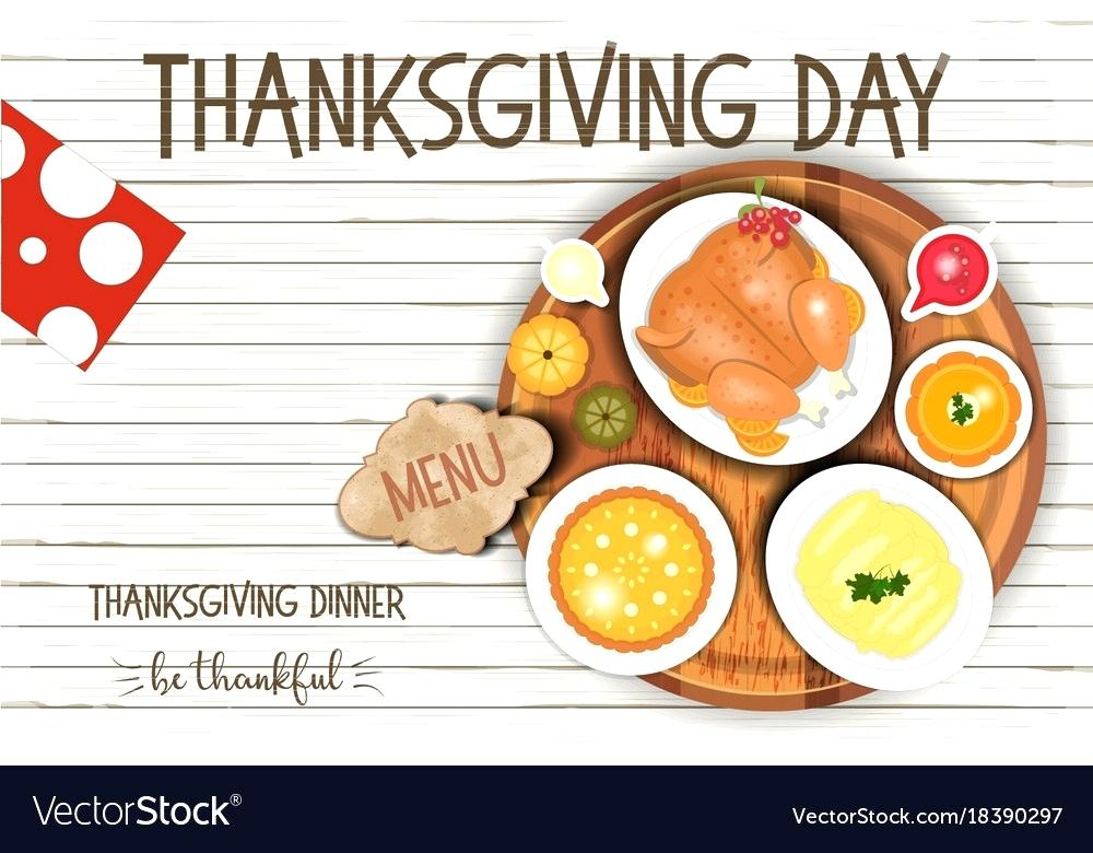 1000x780 Thanksgiving Dinner Menu Template New Poster Templates Free Day