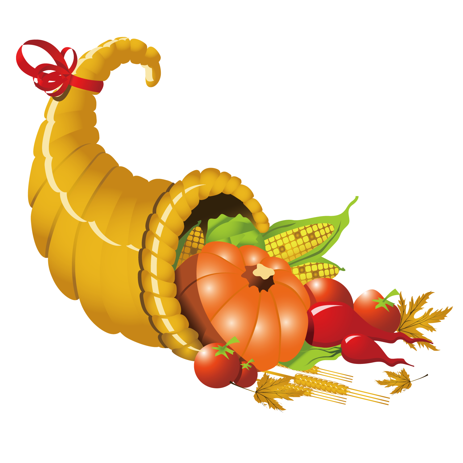 1500x1500 Thanksgiving Dinner Vector Black And White Stock With Cornicopia