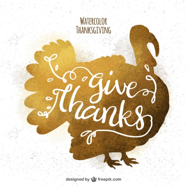 626x626 Golden Background Of Thanksgiving Turkey Silhouette Vector Free