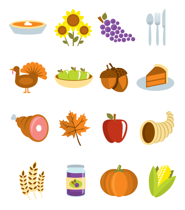 615x696 Thanksgiving Vectors To Be Thankful For!
