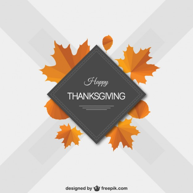 626x626 Minimalist Happy Thanksgiving Vector Vector Free Download