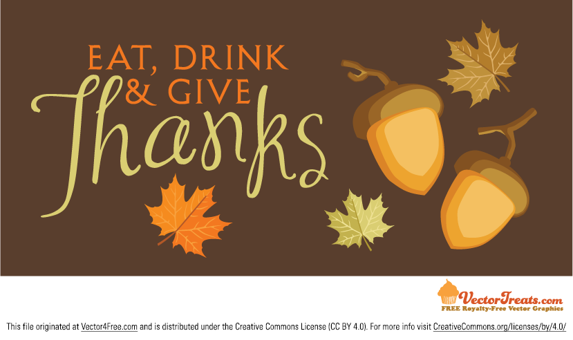 829x492 Free Thanksgiving Vector Background