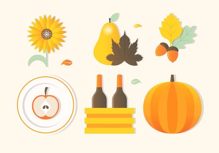 700x490 Free Autumn Thanksgiving Vector Background